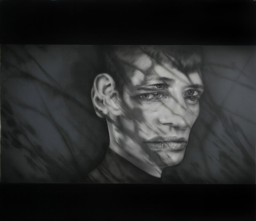 Double Projection Shadow Portrait X