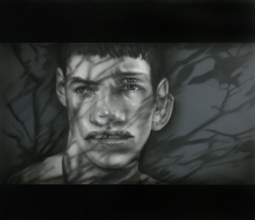 Double Projection Shadow Portrait VII