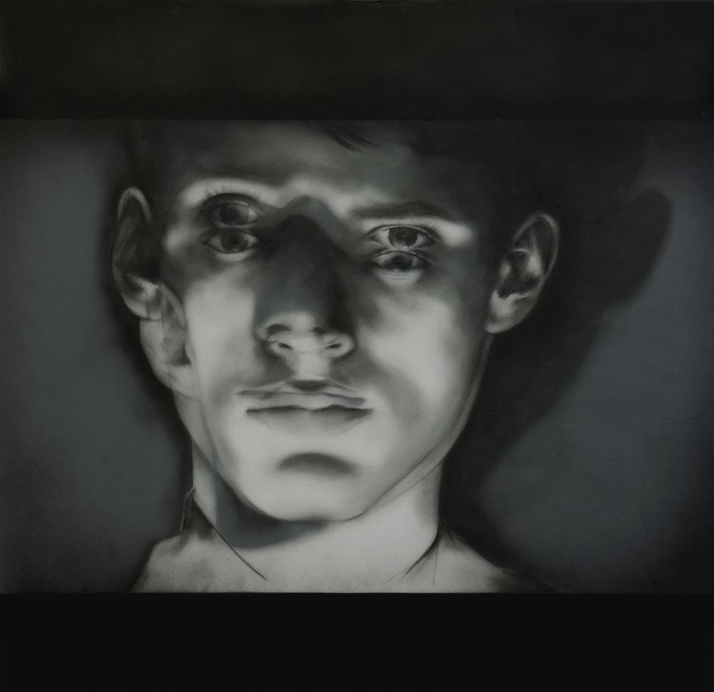 Double Projection Shadow Portrait I